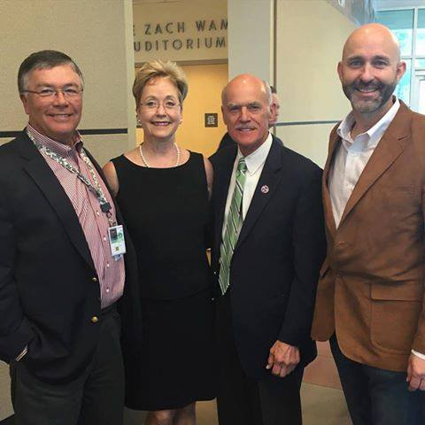 Gene Patterson, Carroll Welch,  Bear Stephenson, and Jim Dodson at the 2015 Annual Meeting